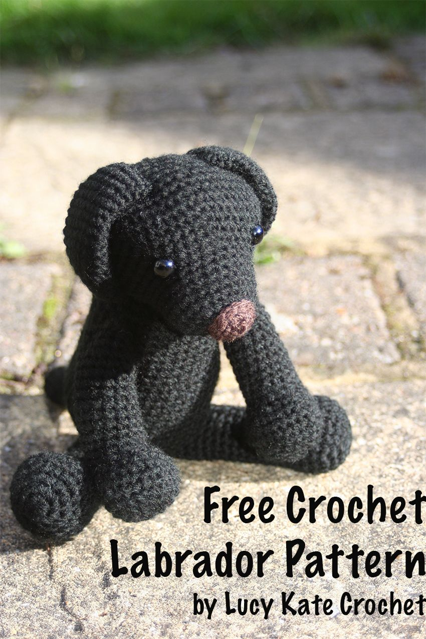 Crochet Labrador: How To Make Your Own Toy Dog | Patrones amigurumi ...