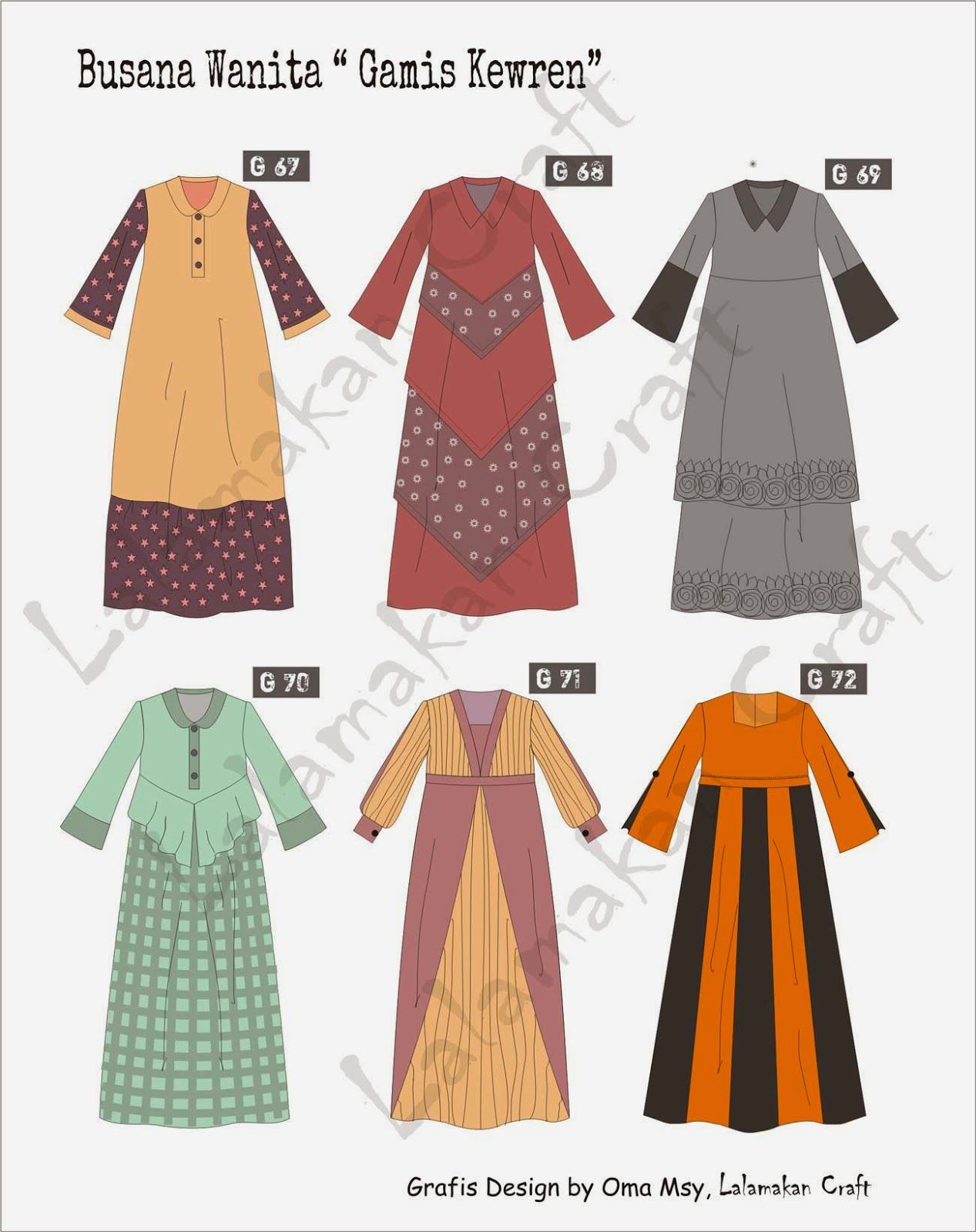 Pesan Pola Busana  Model pakaian, Sketsa model pakaian, Model
