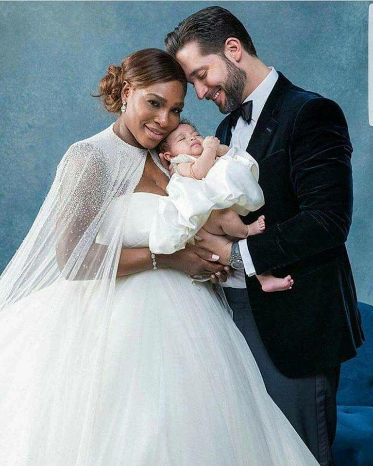 Congratulations Serena Williams And Reddit Co Founder Alexis Ohanian Serena Williams Wedding Designer Wedding Dresses Most Beautiful Wedding Dresses