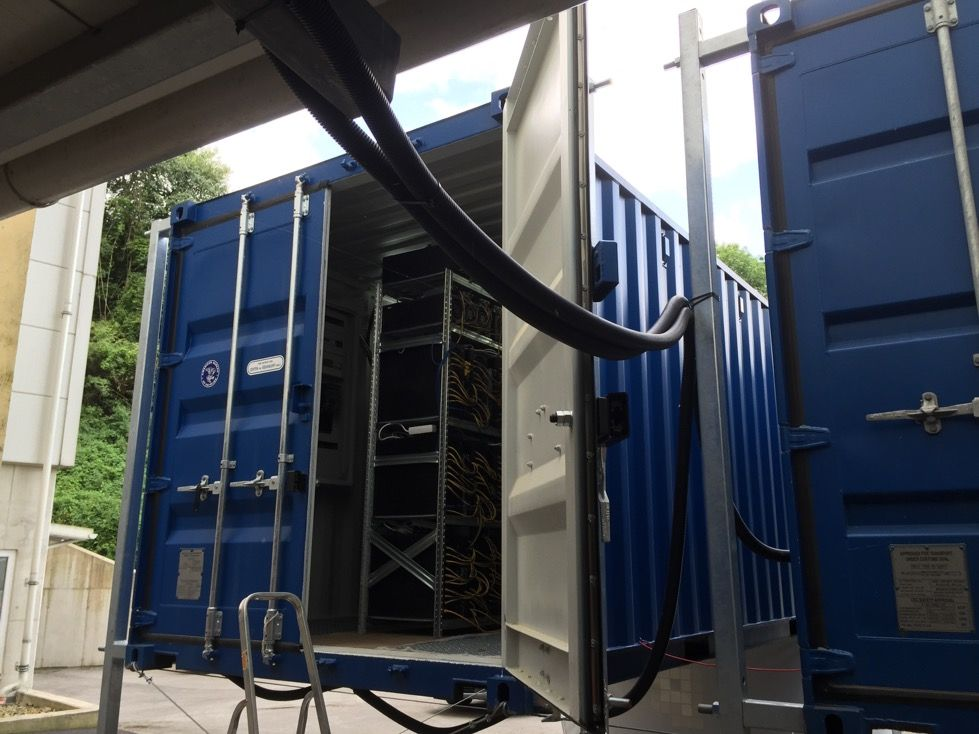 Mobile Bitcoin Mining In Standard Industry Containers Bitcoin In -