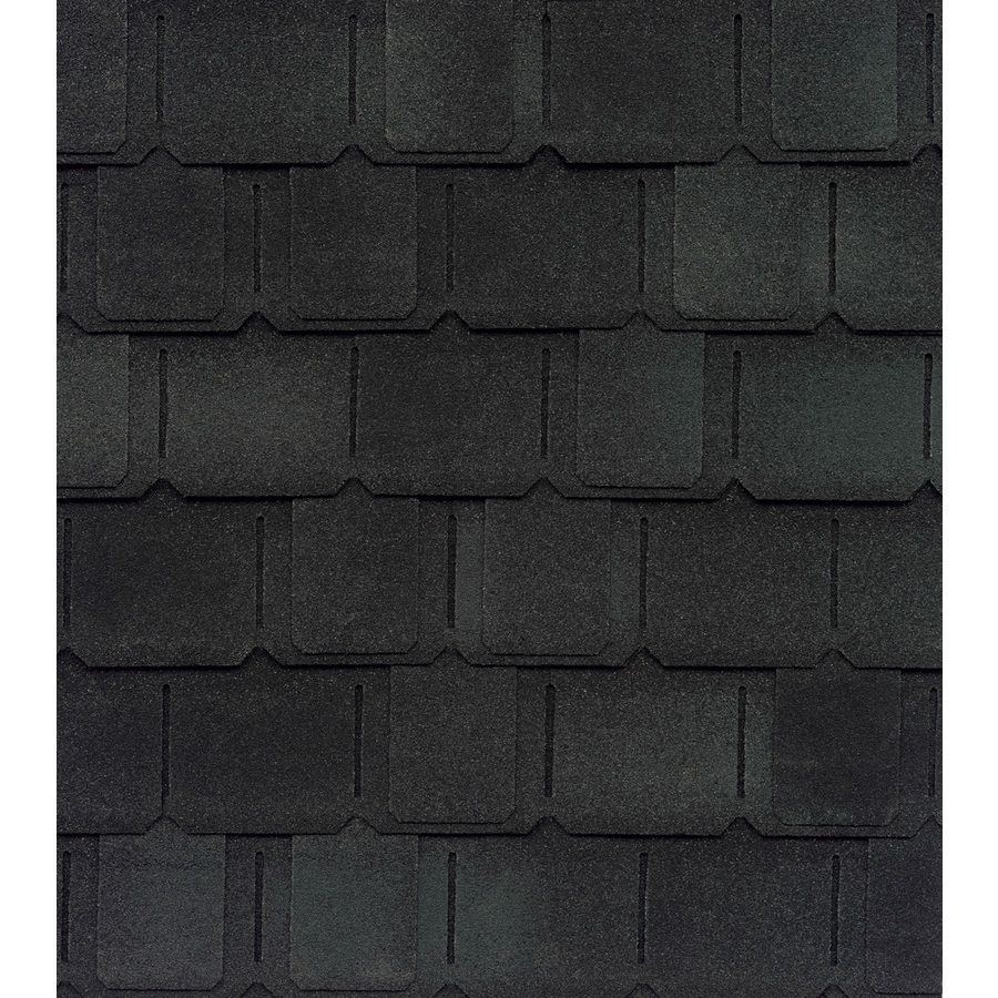 Best Gaf Camelot Ii 25 Sq Ft Charcoal Laminated Architectural 400 x 300