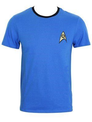 Star Trek Blue Uniform T-Shirt blau S