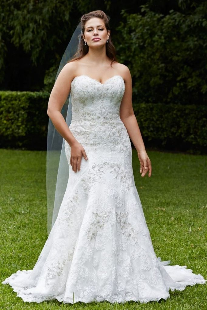 wedding dresses for petite curvy brides - plus size dresses for ...