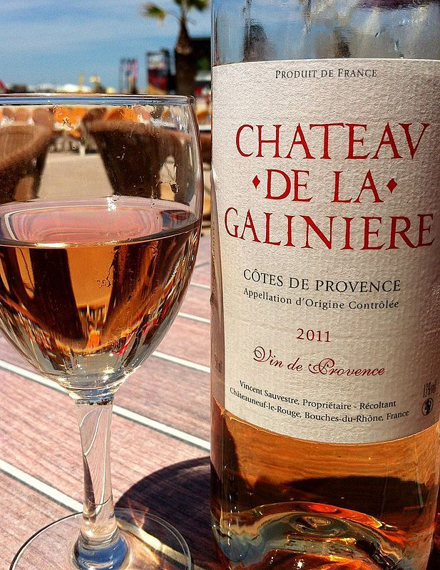Provence wine - A rosé from the Côtes de Provence