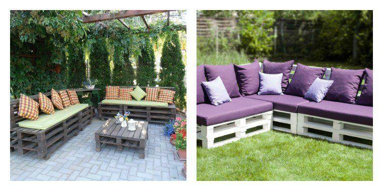 Le salon de jardin en palette en plus de 110 idées originales | Summer