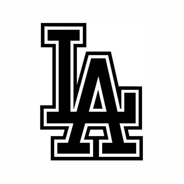 LA Dodgers Logo Vinyl Decal Sticker California Baseball Sports Los - Custom vinyl stickers los angeles