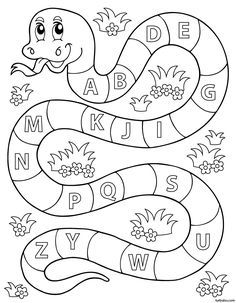 Apprendre l'alphabet ; exercice ludique (1) (avec images ...