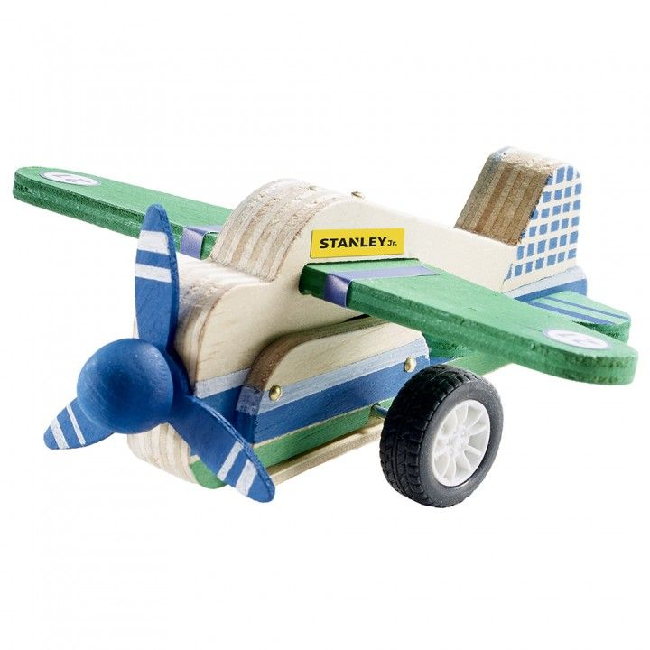 Pull-Back Airplane Woodworking Kit makes a great project for a gift or to do with a child in your life!