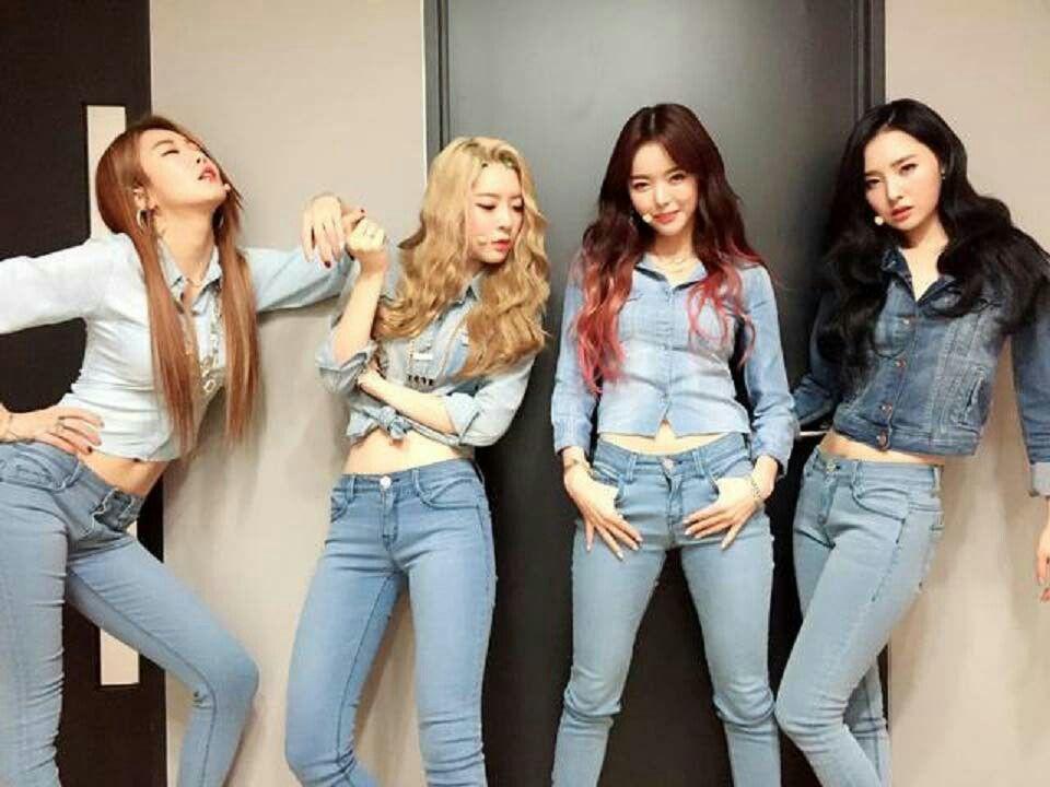 Dal Shabet: Subin, Serri, Ah Young, Woohee