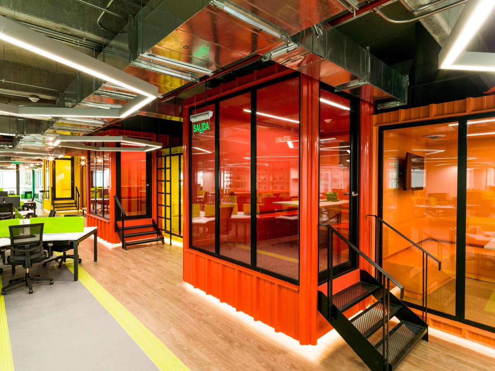 Globant Offices Bogot 5 Best Of The Best Pinterest  # Muebles Rotterdam Bogota