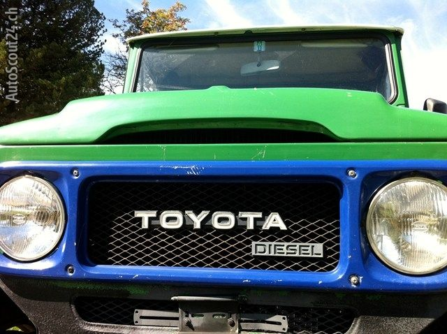 Toyota Bj45 Occasion Diesel Primary Colors And 40 Series Goes