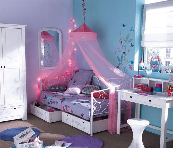 Chambre De Petite Fille Bleue Comment Bien La Decorer Avec Images Chambre Enfant Deco Chambre Fille 6 Ans Deco Chambre Enfant