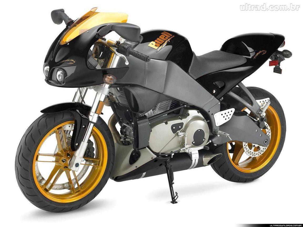 Dessin En Couleurs A Imprimer Vehicules Moto Buell Numero