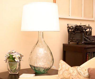 Turning A Glass Vase Into A Lamp Tutorial Como Fazer Abajur Diy