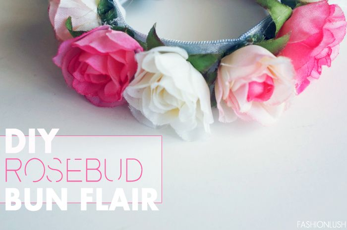 DIY Flirty Flower Bun Wrap ft. Twistband