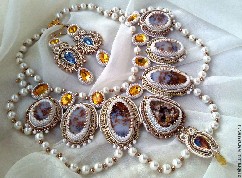 """Купить """"Маркиза Ангелов"""" - белый, свадьба, подарок девушке, подарок женщине, украшения ручной работы"""