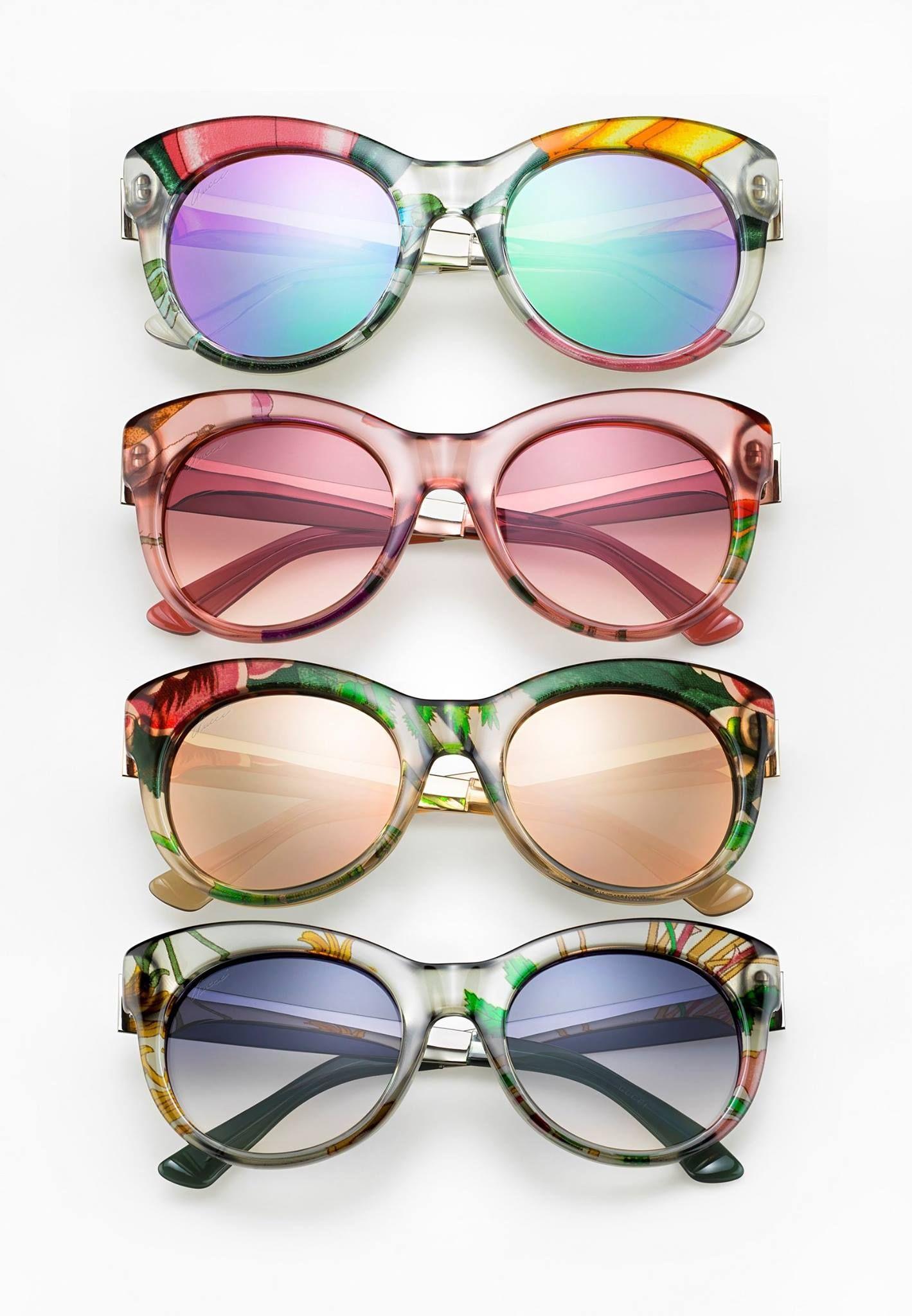 Loving the New Gucci Print Glasses!