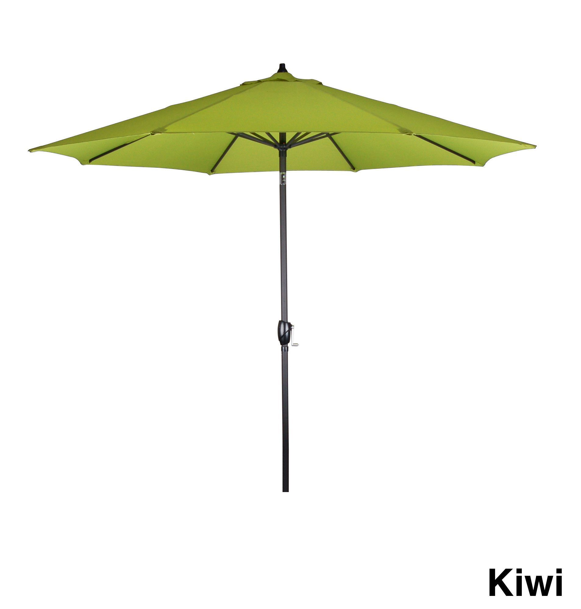 Michael Anthony Furniture 9Ì_Ì_åÈ Aluminum Frame Green Market Umbrella - Kiwi