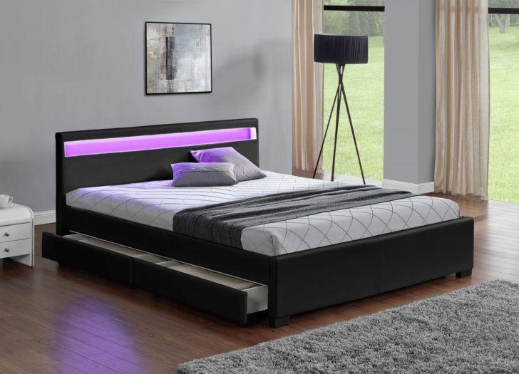 Interior Design Lit 160x200 Lit 160x200 Sbrled Black2 Alinea Commode Enfant Canape Angle Convertible Pas Ch En 2020 Canape Angle Convertible Lit Led Canape Confortable