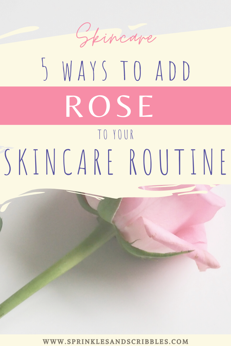 Rose The Skincare Miracle Sprinkles Scribbles In 2020 Skin Care Routine Skin Care Rose Skincare