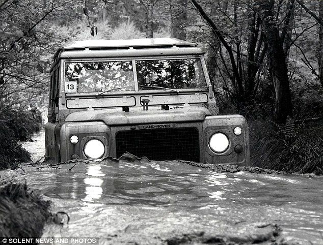 Rugged: A 1979 Land Rover V8 Series III range car. The iconic off-roader was produced between 1979 and 1985.