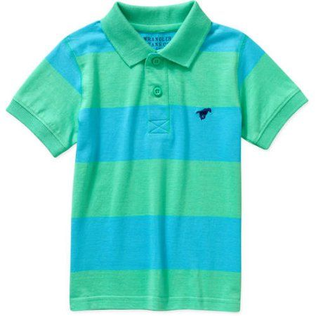 24197d82 Wrangler Toddler Boy Short Sleeve Polo Shirt - Walmart.com | Ryder ...