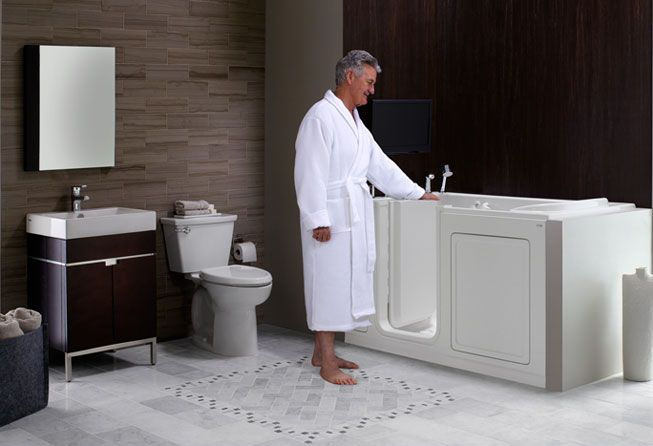 This Beautiful Tropic® Suite, With Its Bohemian And Natural Feel,  Incorporates The American Standard Seated Safety Shower To Create A  Luxurious Andu2026