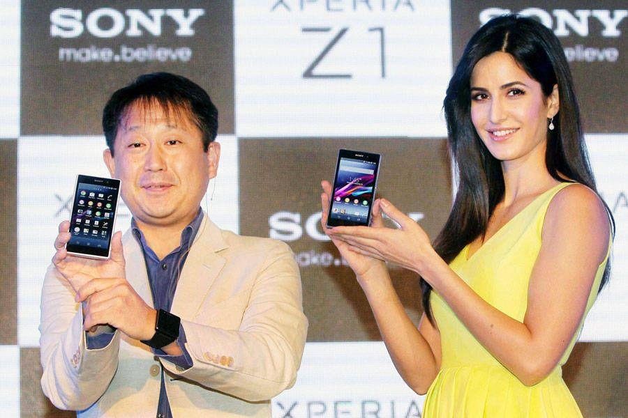 Katrina Kaif Launches Sony Xperia Z1 Katrina Kaif Katrina Katrina Kaif Photo
