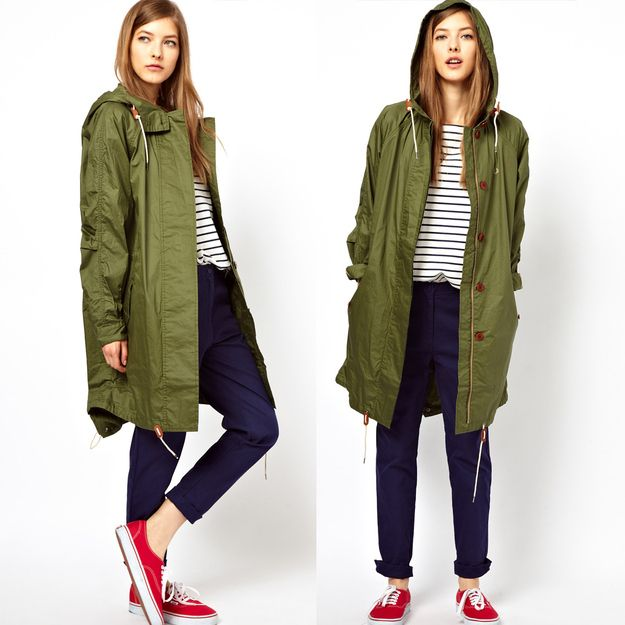 Army Hooded Anorak, $45