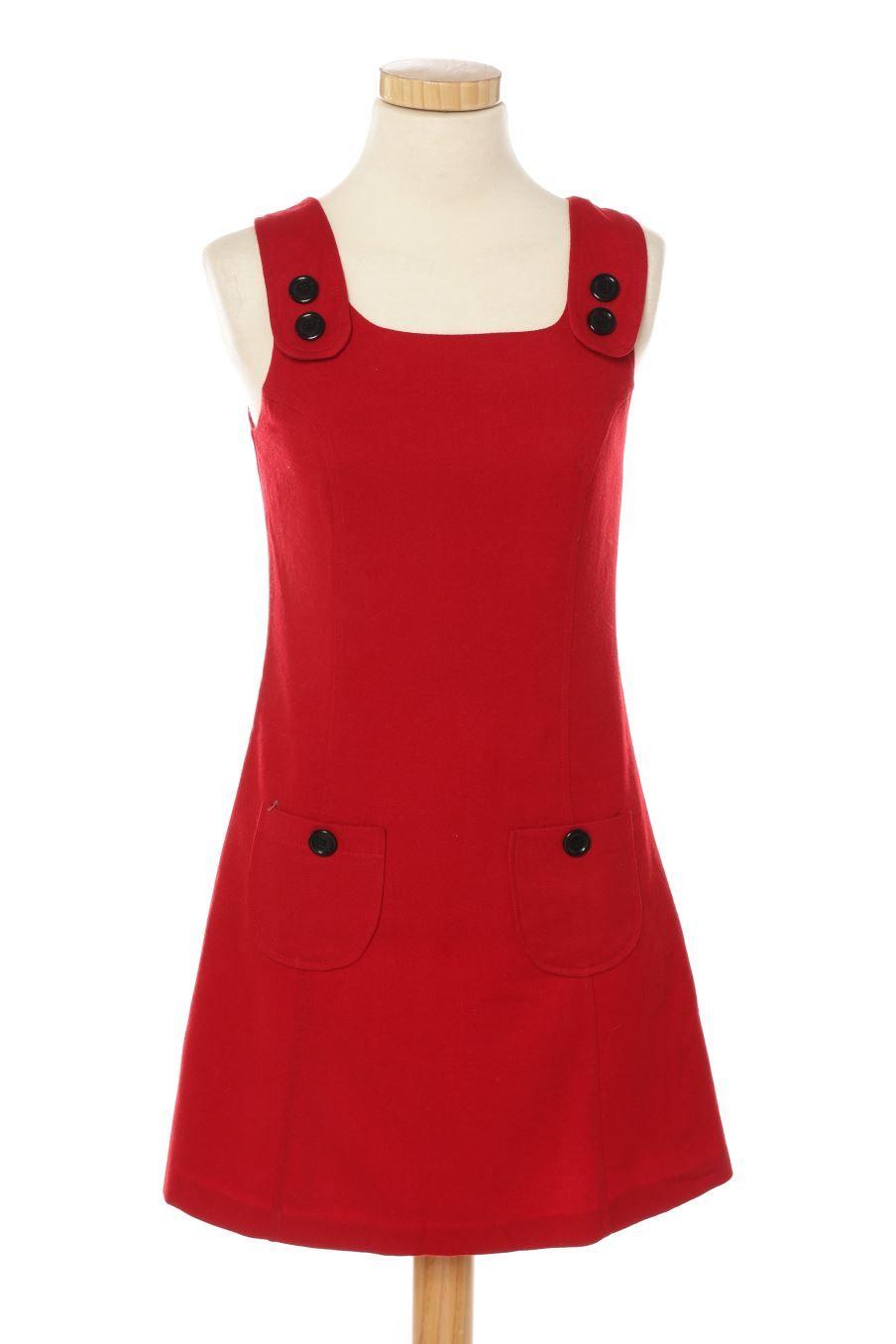 Vestido casual de new look de la talla de color rojo pretty