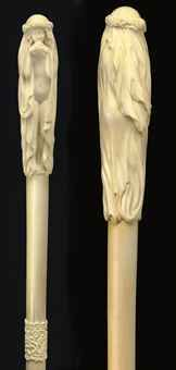 #antiquecane erotic walking stick