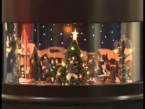 Animated Symphony Of Bells Musical Tabletop Decoration Mrchristmas Symphony Of Bells Skaters Animated Musical