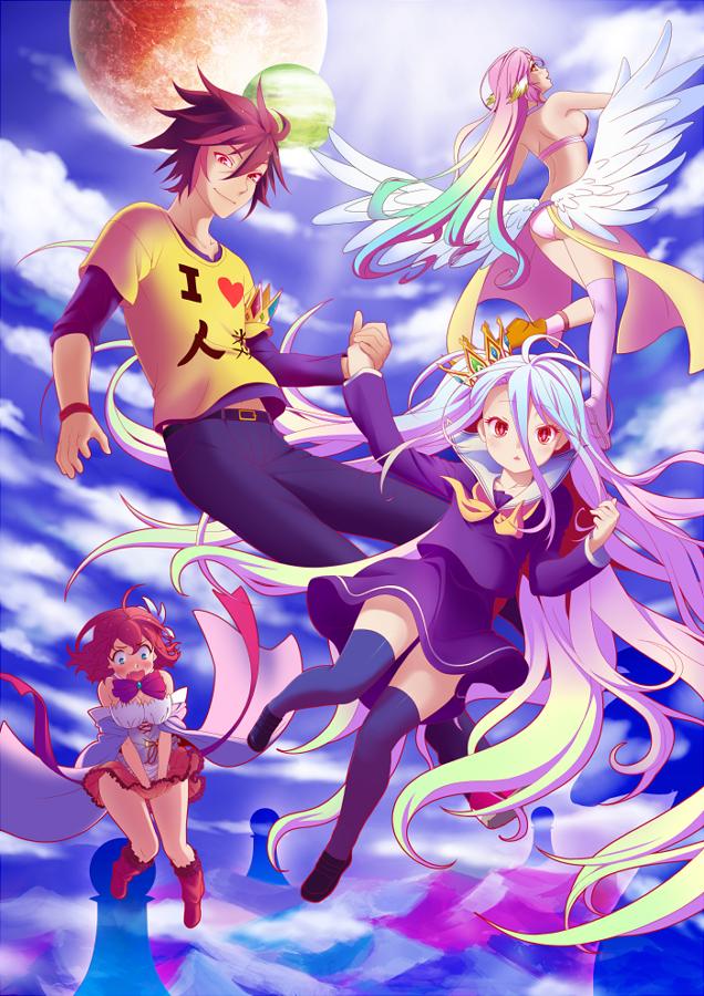No Game No Life by Edaliechan No game no life, Anime