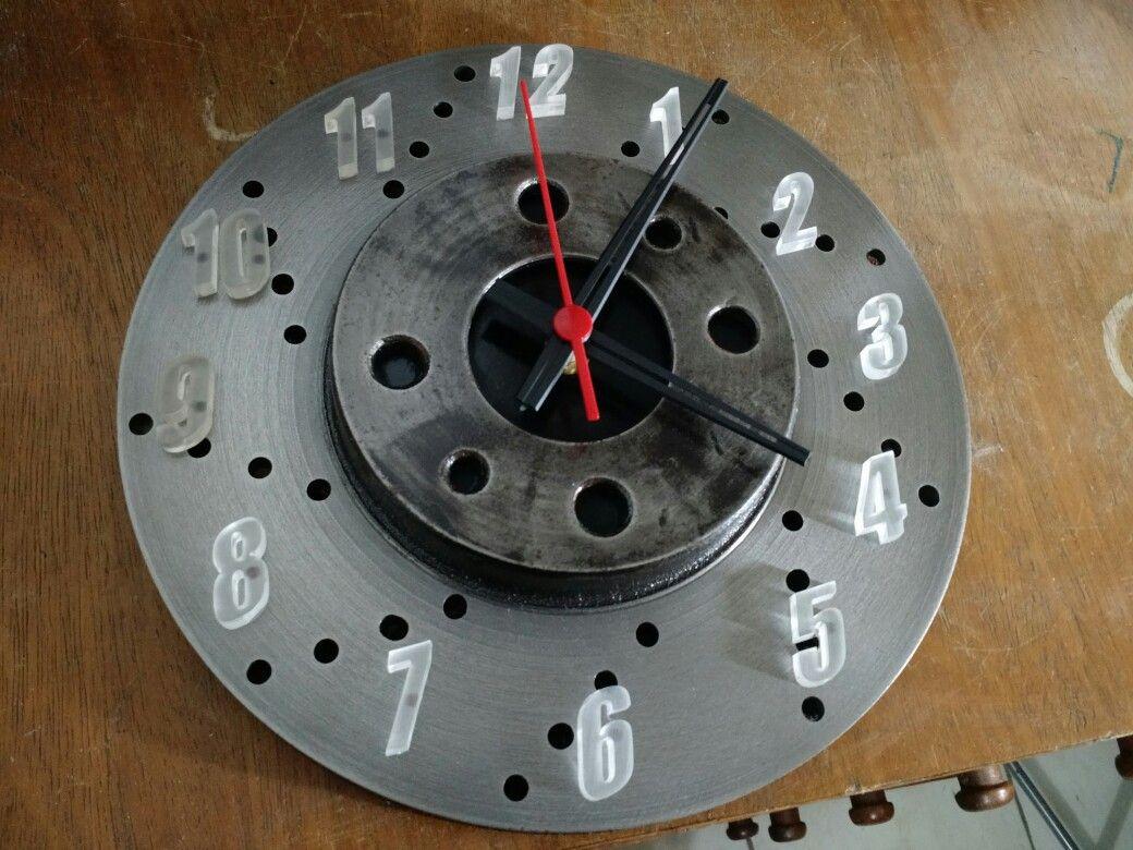 Man Cave Garage Clocks : Hemi timing gear clock garage engine auto car part