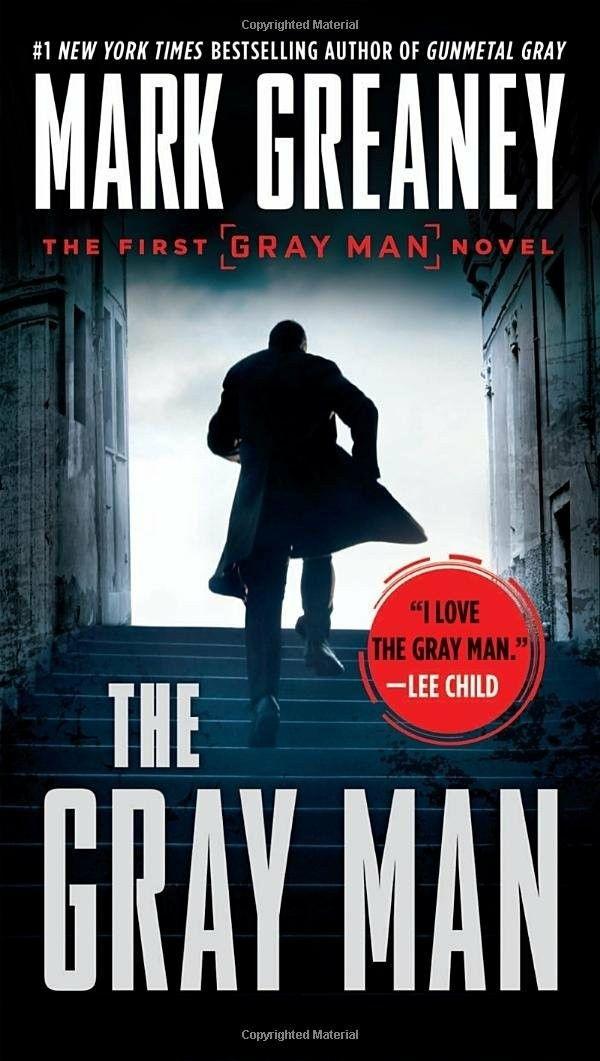 The Gray Man Mark Greaney 2009 Jack Reacher Books Novels Thriller Books