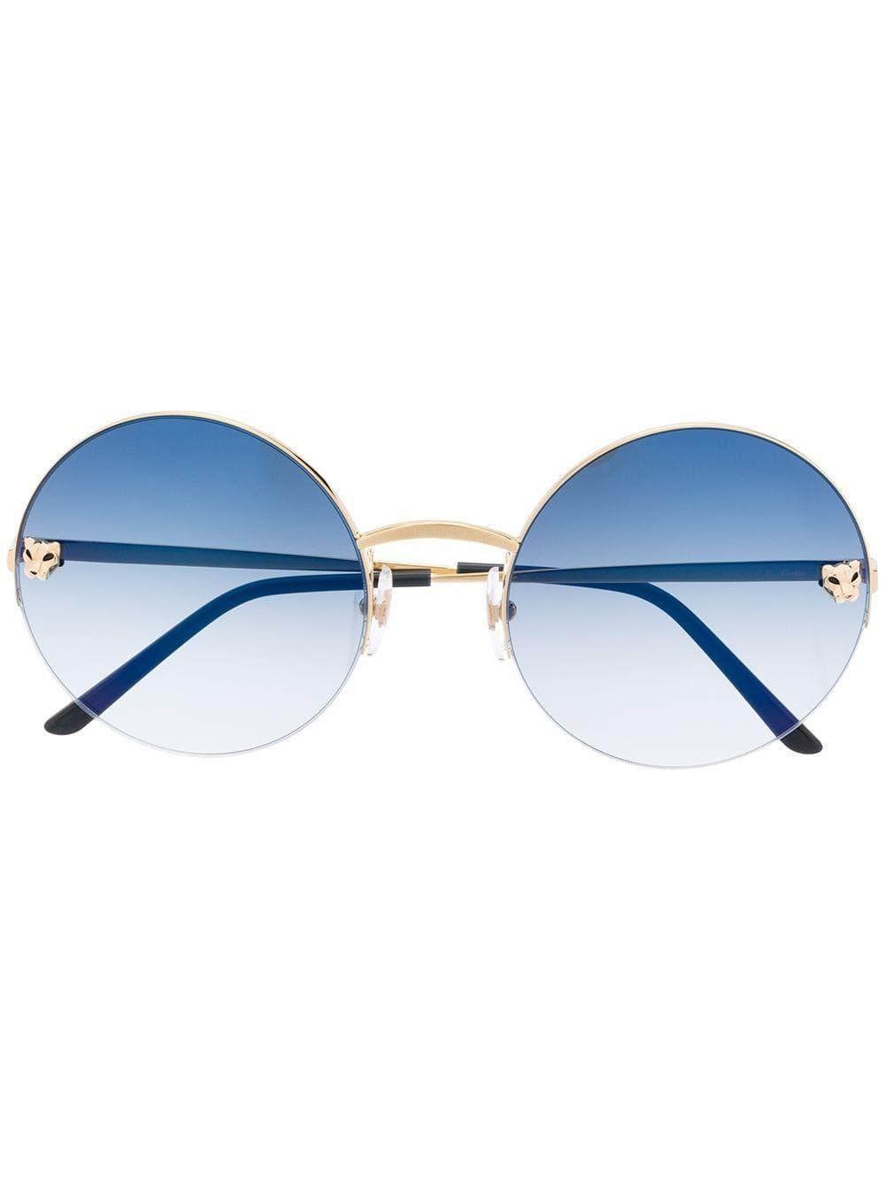 Cartier Eyewear Panthère De Cartier Sunglasses  – Farfetch