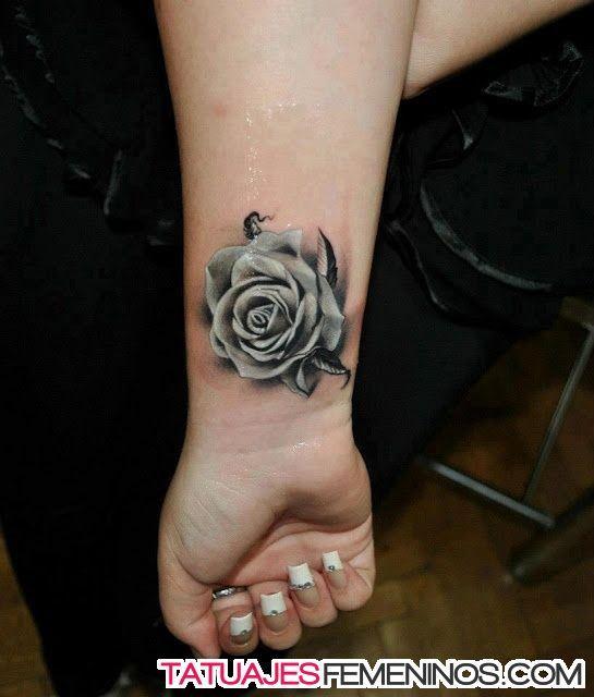 Tatuajes De Rosas Para Mujeres En El Brazo 11 Tatuajes Pinterest