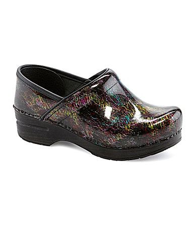 Dansko Professional Clogs #Dillards Tried these on today!!! Love the colors!!!! No matter what you wear...they match!!!