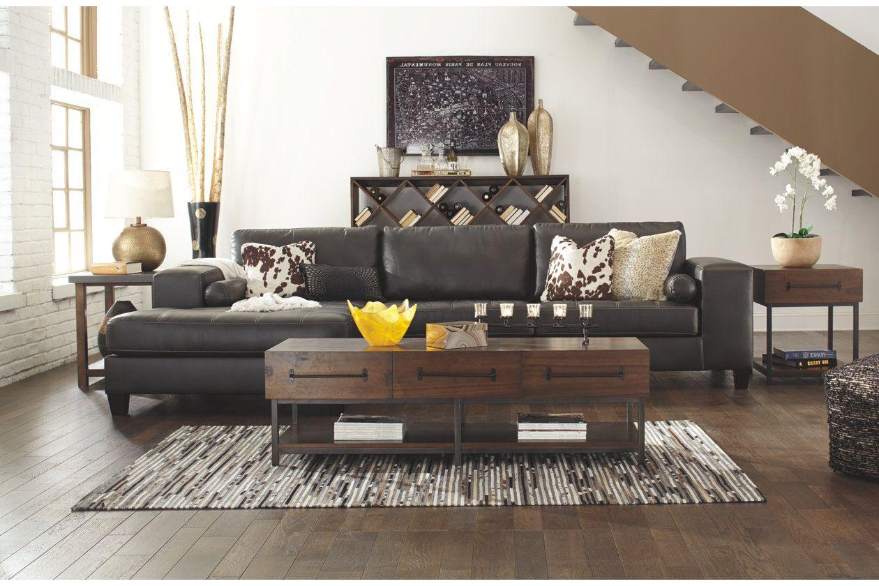nokomis 2 piece sectional ashley furniture homestore rectangle rh pinterest com