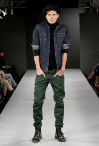 should men wear jeans tucked into boots  mens fashion