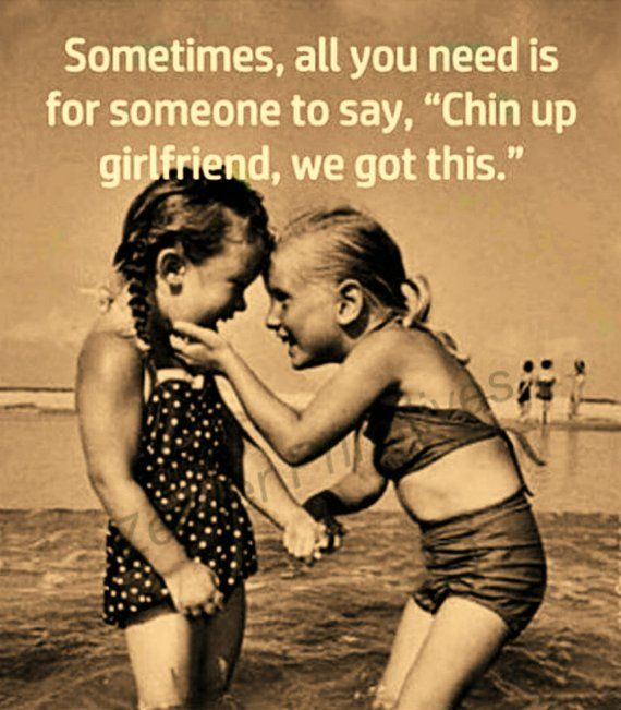 Chin up girlfriend we got this / Perfect Gift For Friend /   Etsy