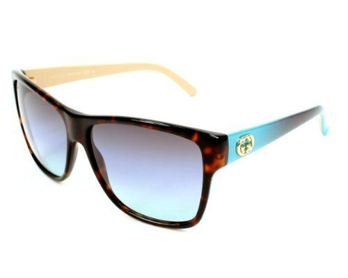 efa8a5390c464 Gucci Sunglasses GG 3579 S WQ22 Acetate Havana - Turquoise - Beige Grey -  Blue - Green Shaded Gucci.  179.90