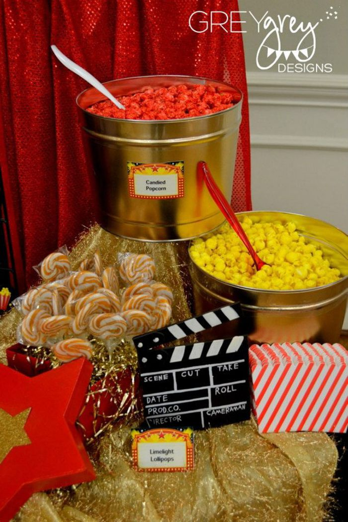 Red Carpet Birthday Party Via Kara S Ideas Spartyideas