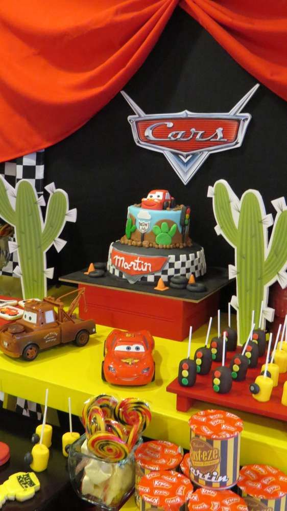 Check Out This Disney Cars Birthday Party See More Ideas At CatchMyParty
