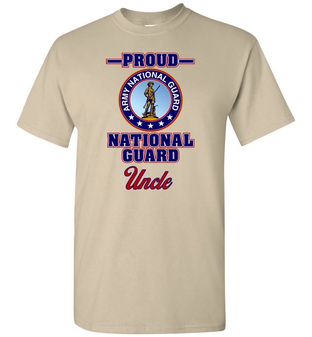 Proud U.S. Army National Guard Uncle TShirt in 2019