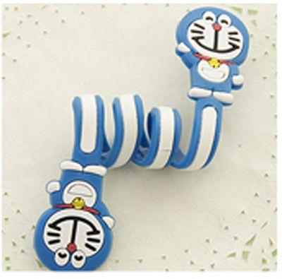 Cartoon Cord Winder Reversal Korea fashion creative Lovely Classic adorable long strip winding thread tool device silicone