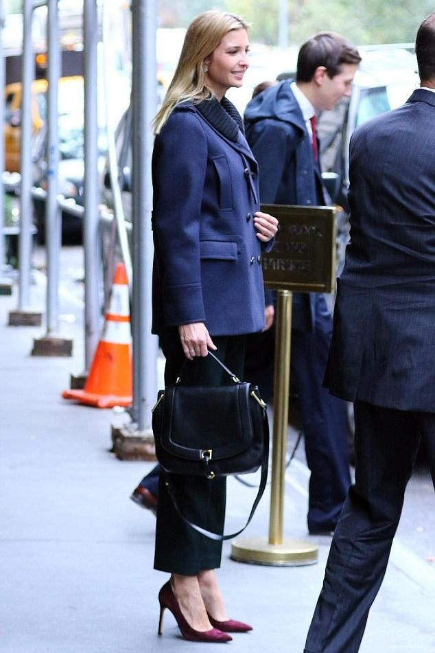 Ivanka Trump New York City November 9 2016 - Star Style
