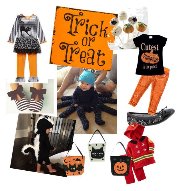 """Halloween Cuteness"" by aasisterstouch on Polyvore featuring Nina Kids"
