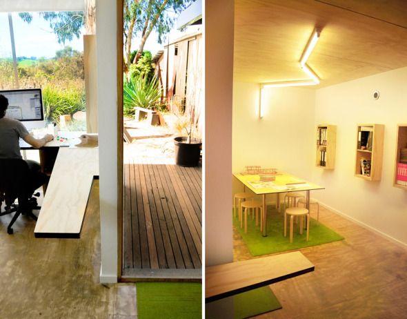 Una oficina para arquitectos dise ado por arquitectos - Arquitectos de interiores famosos ...