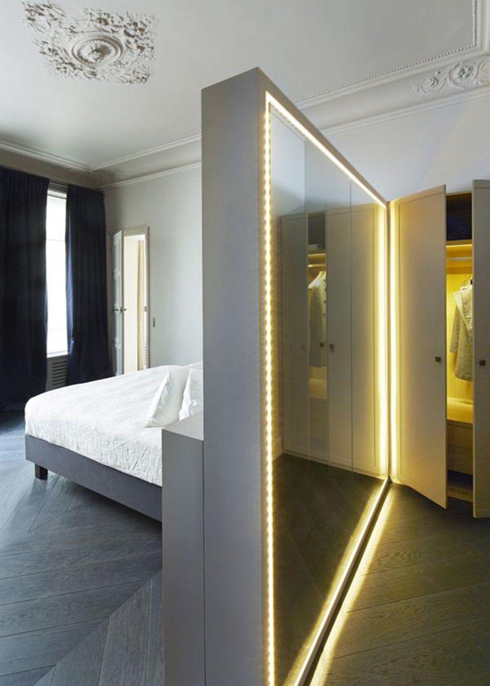illuminez votre int rieur avec des led deco pinterest maison interieur et dressing. Black Bedroom Furniture Sets. Home Design Ideas